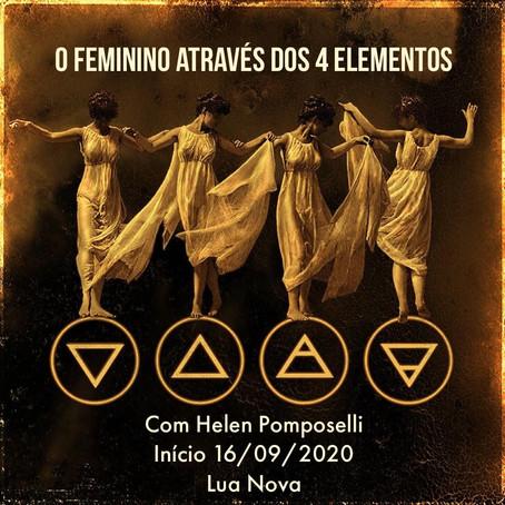 16/09/2020 - O Feminino atraves dos 4 elementos com Helen Pomposelli