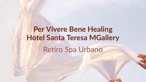Retiro Spa Urbano Per vivere bene Healing no Hotel Santa Teresa MGallery/ RJ