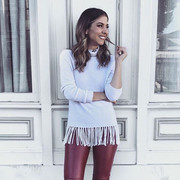 Sweater by Aqua   Pants by Zara