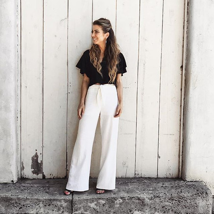 WAYF Pants / Forever21 Blouse