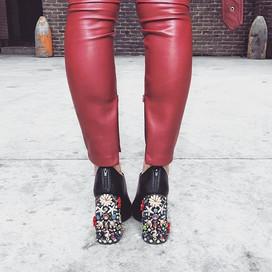 Jewelry Encrusted Heels