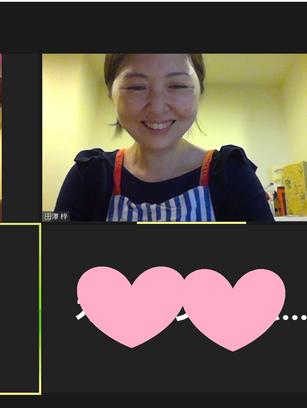 オンライン料理教室実施しました。