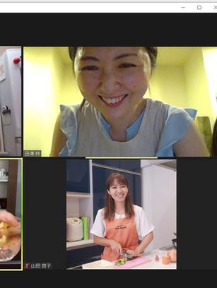 オンライン開催 キッズ料理教室開催