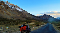 Approaching the plains of Sarchu