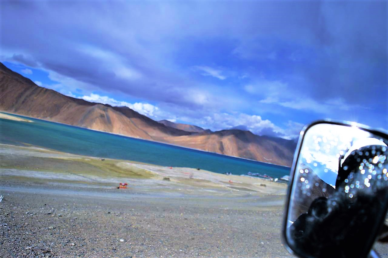 The breathtaking view, Pangong Tso