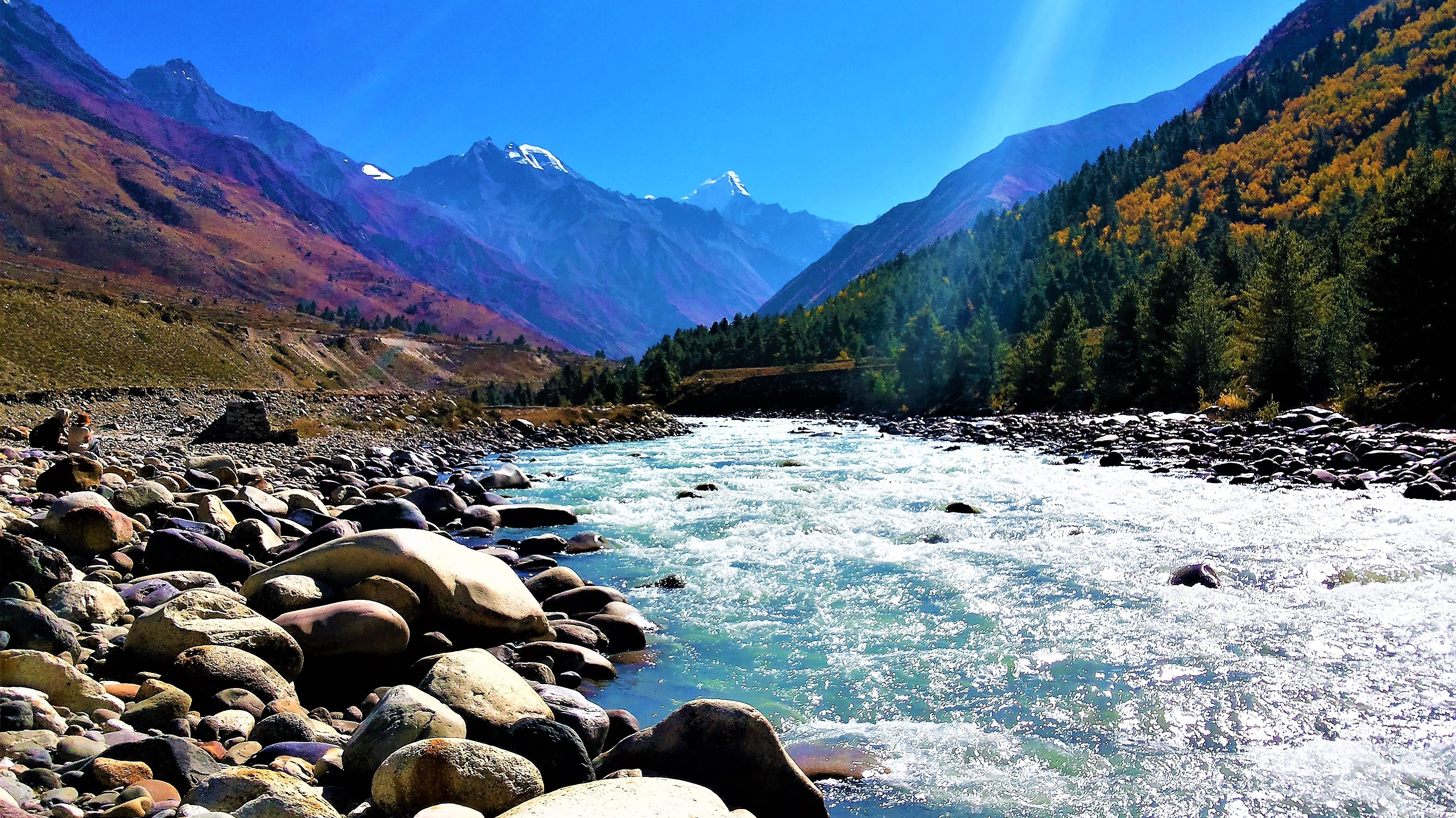The most scenic place I have ever been, Chhitkul, 2014