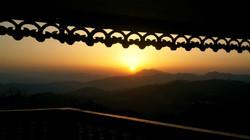 Sunrise worth looking, Kasauli, 2014