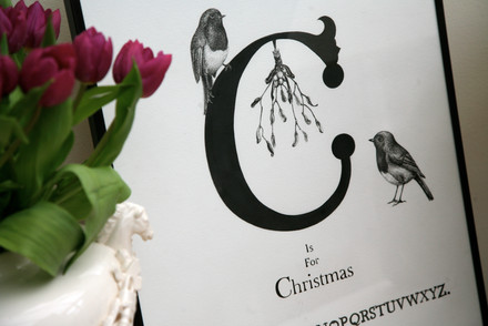 C is for christmas commission