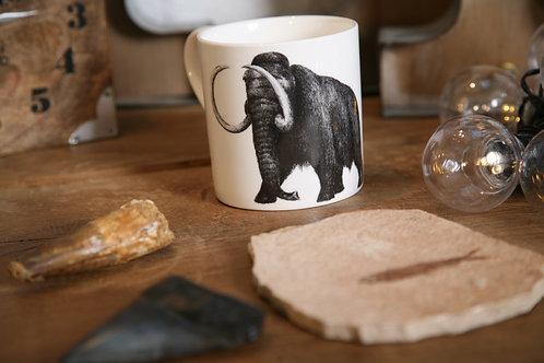 Wooly Mamouth Fine bone china mug