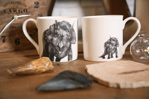 Triceratops Fine Bone China Mug