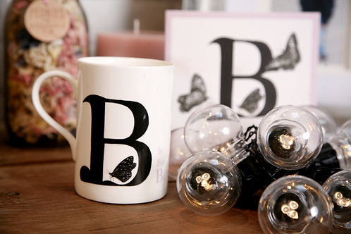 B is for Butterfly Mug