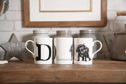 D is for Dinosaur Mug