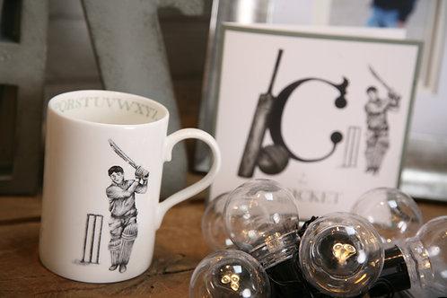 C is for Cricket Mug