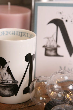 M is for Magic Mug