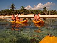 Kayaking Tulum