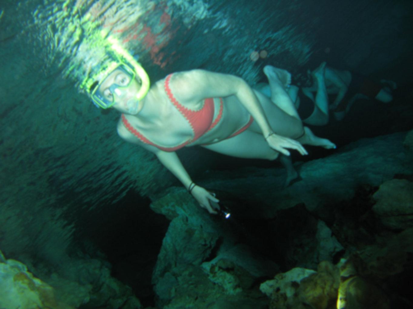 Cenotes Snorkeling Tulum