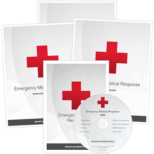 Emergency Medical Response Instructor Textbooks