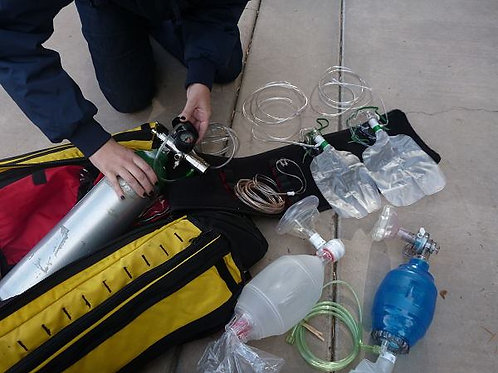 ARC Administering Emergency Oxygen