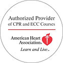 Americn Heart Association Authrized Proveder of CPR Courses