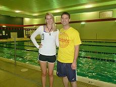 Lifeguard Instructors Sherri and Eric