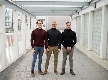 Y-kampus article about Medified. Picture of medified team.