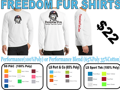 Purchase A Freedom Fur Shirt (S-2XL)