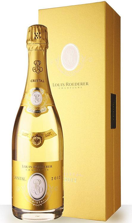 Champagne Cristal 2012 Coffret Louis Roederer
