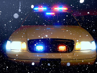 Christmas in a Patrol Car