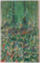TC_Monument_22x13.5_gouache, silk, acryl