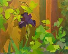 Iris, Mustard Greens, Hops