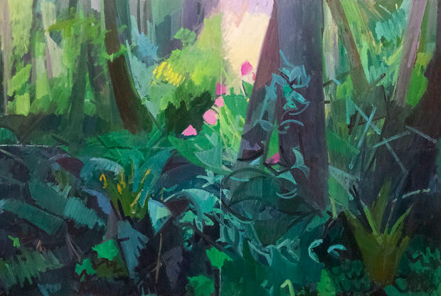 Light in the Forest, Annunciation