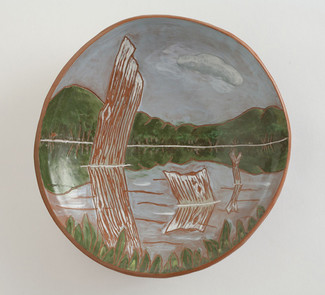 Reflections Plate