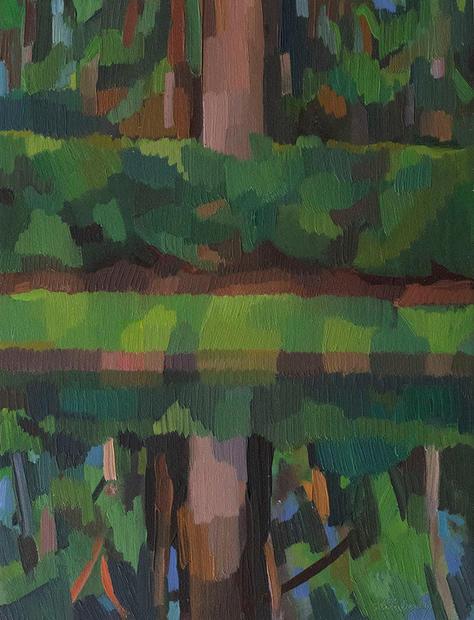 Reflecting Pond, Double Cedar