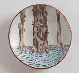 Three Trees Plate