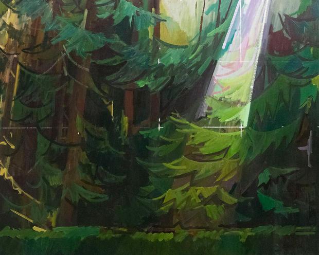 Light in the Cedars, Annunciation