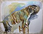KG_Lion Tamer_2019_oil on canvas_52x64.j