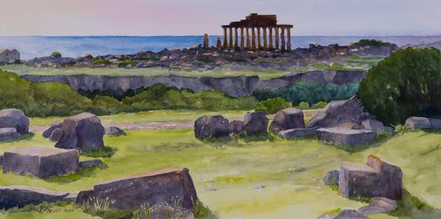 Ruins at Selinunte, Sicily