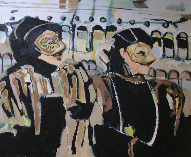 Venetian Ladies On Parade