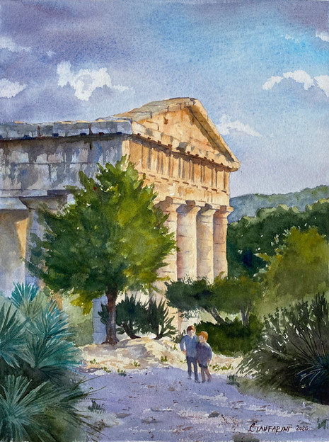 Temple at Segesta (Sicily)