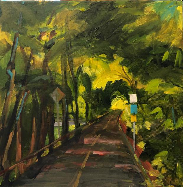 Arlington Bike Path 12