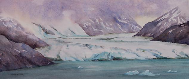 The Amalia Glacier, Chile