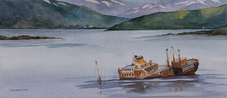 Wreck in the Beagle Channel