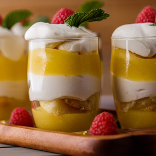 Lemon Tiramisu Mousse