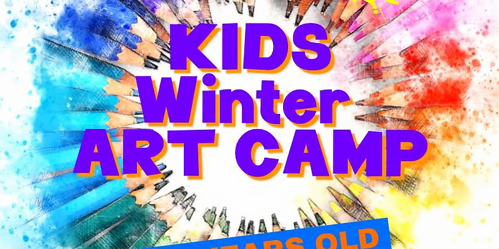Kids Winter Art Camp
