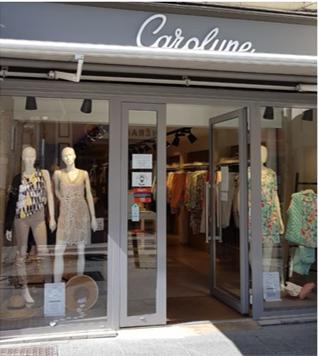"Bon d'achat 57.5€ - ""Carol'yne Collection "" - Prêt-à-porter féminin"