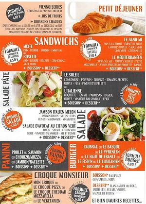 """Bon d'achat 57.5€ - """"En K2 Besoin"""" - Fast Food"""