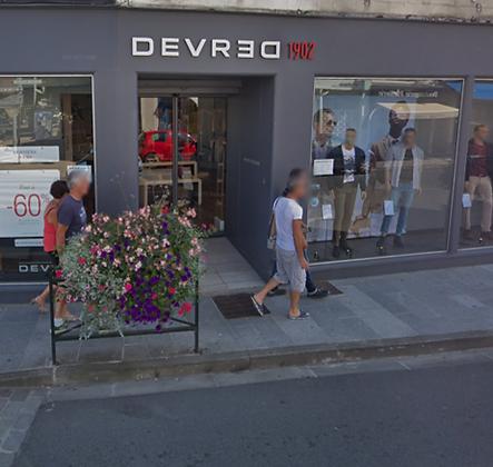 """Bon d'achat 57.5€ - """"Devred 1902 """" - Prêt à porter"""