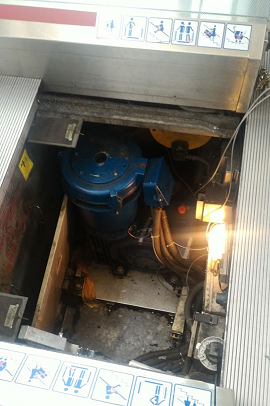 Escalator Motor Vibration