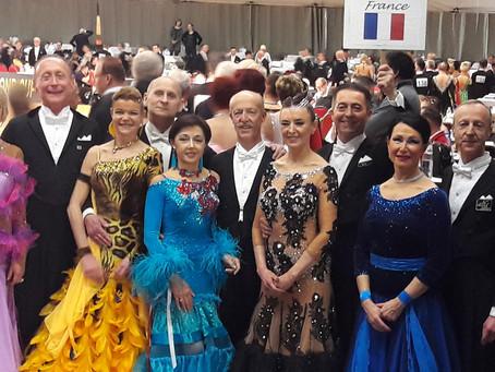 Anvers : Le Championnat du monde Senior 4