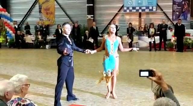 Inspiration Jive # Championnat de France 10 danses # 🥈🥈 Vice Champions # Vence 03 novembre 2018 # Rabih et Séverine...